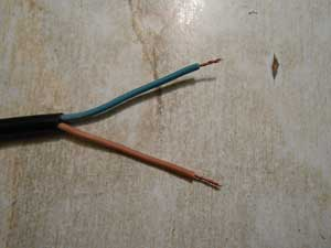 ремонт сетевого шнура своими руками