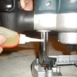 Подготовка ручного фрезера к работе
