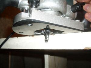 подготовка и установка глубины фрезерования